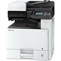 Kyocera 1102P42US0 Model ECOSYS M8124cidn Color A3 MFP Multi-Function Laser Printer (Print/Scan/Copy/Fax), 24 ppm Color, Resolution 600 x 600 dpi Up To Fine 1200 x 1200 dpi, Duplex, HyPAS Capable