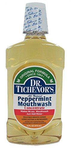 Dr. Tichenors Antiseptic Mouthwash, Peppermint 16 fl oz