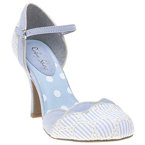Ruby Mujer Azul Pheobe Shoo Zapatos Hnqr1wUHTW