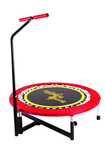 Fitness Trampoline with T-bar Handle by Boogie Bounce