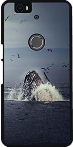 Funda para Google Nexus 6P (Huawei) - Ballena by WonderfulDreamPicture