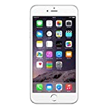 "APPLE 64GB IPHONE 6 PLUS A1524 5.5"" SILVER FACTORY UNLOCKED LTE 4G CELL PHONE"