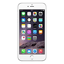 """APPLE 64GB IPHONE 6 PLUS A1524 5.5"""" SILVER FACTORY UNLOCKED LTE 4G CELL PHONE"""