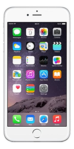 Apple iPhone 6 Plus 64 GB Factory Unlocked, Silver