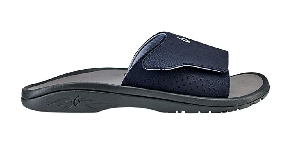 OLUKAI Mens Nalu Slide Slip On Open Toe Sport Sandals