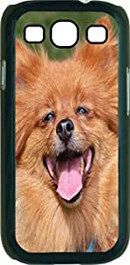 Spitz Dog - Case for the Samsung Galaxy S III-S3- Hard Black Plastic Snap On Case wangjiang maoyi by lolosakes