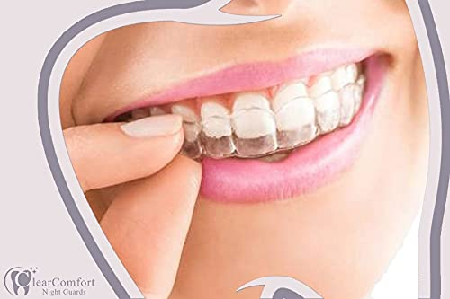 Dental Lab Custom Dental Night Guard, Sleep Mouth Guard, protect Teeth from Grinding, Bruxism & TMJ Relief