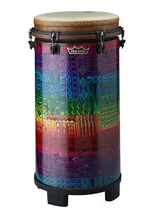 Remo TU-1114-17 Tubano, 27 x 14 Inches,Drumkey Tuned,Rainbow by Remo