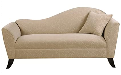 Van Gogh QuotDaisyquot Fabric Chaise RHF