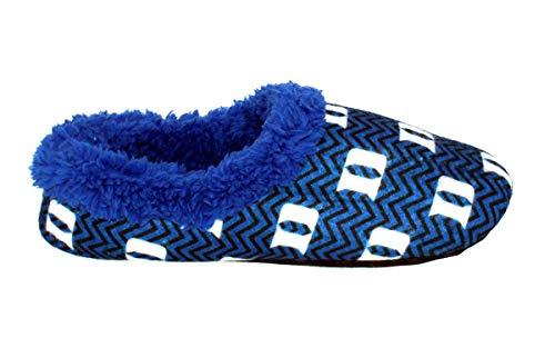 Chevron Mens Duke and Slip Officially Devils College Licensed Blue On NCAA Feet Womens Happy 15nq88