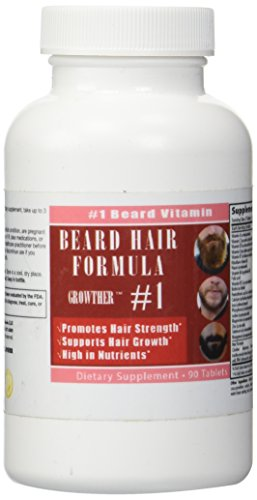 Beard Growther Vitamins Growing tablets