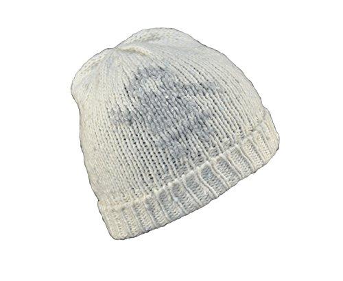 Gorro punto blanco de ral perla PRADA hombre Talla Blanco para 1013 SPORT única qU5n0t