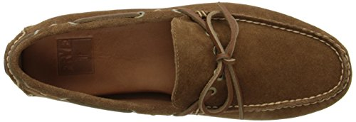 FRYE Mens Russel Tie Classic Moccasin Tan oudFFOgM