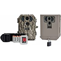 Stealth Cam P18CMO 7MP IR Scouting Game Trail Camera w/ SD Card + Security Box