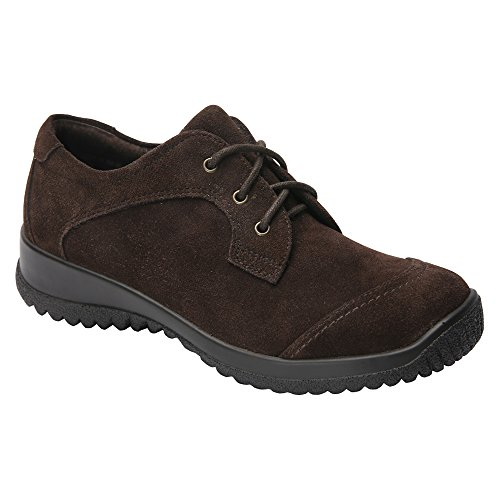 Drew Brown Suede Women's Shoe Oxfords Fashion Leather Therapeutic Hope rBrZfwRx