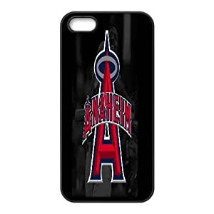 IPhone 5,5S Case, Los Angeles Angels of Case for IPhone 5,5S {Black} by trustaaa