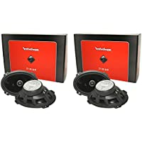 (4) Rockford Fosgate P1692 6x9 Punch Series 480 Watt 2-Way Car Audio Speakers