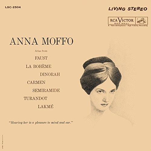 (Anna Moffo sings Arias from Faust; La Bohème; Dinorah; Carmen; Semiramide; Turandot;)