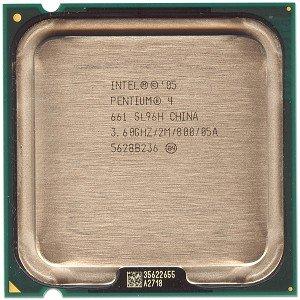 - Intel Pentium 4 661 3.60GHz 800MHz 2MB Cache Socket 775 CPU
