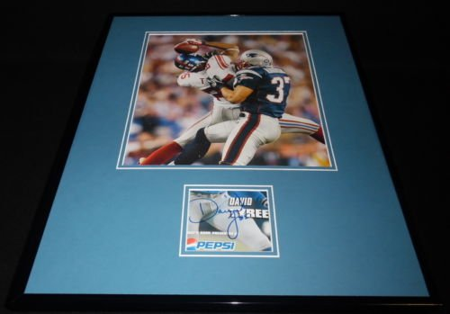 David Tyree Catch - David Tyree The Catch Signed Framed 16x20 Photo Display Giants Super Bowl