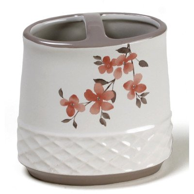 Coral Garden Toothbrush Holder from Saturday Knight
