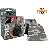 KT Tape PRO Synthetic Elastic Kinesiology Therapeutic Sports Tape, 20 Precut 10 inch Strips | Limited Edition Colors | Latex-Free, Breathable, Pro & Olympic Choice