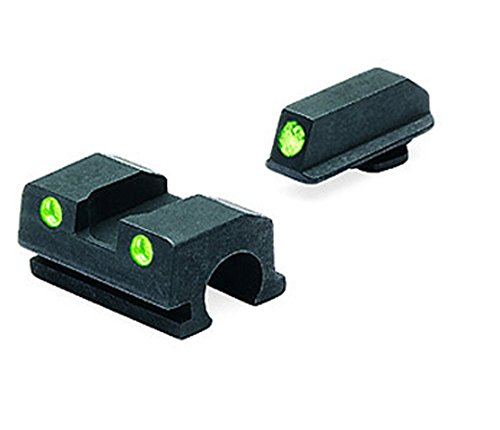 Meprolight Tru-Dot Night Sight for Walther P-99 9mm and .40 Compact Pistols and .45 Full Size Pistols - Fixed set