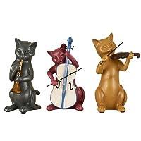 Liangliang988 europeo americano creativo soggiorno decorazione della stanza Lucky Cat ornamenti tre set