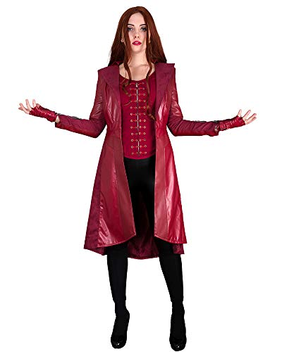 Wanda Halloween Costume (Cosplay.fm Women's Scarlet Witch Outfit Cosplay Costume Jacket with Pants Vest)
