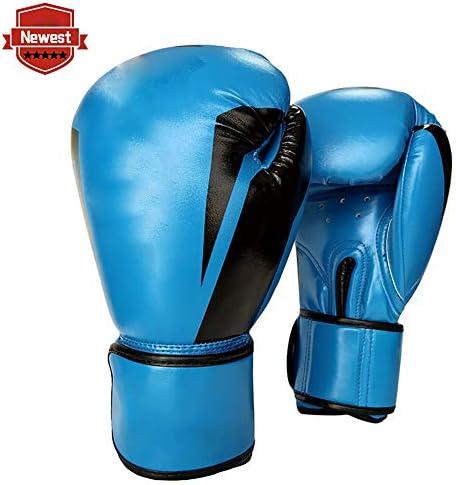 メンズボクシンググローブ、ムエタイボクシンググローブPUレザーボクシングトレーニングトレーニングボクシングトレーニング10オンス