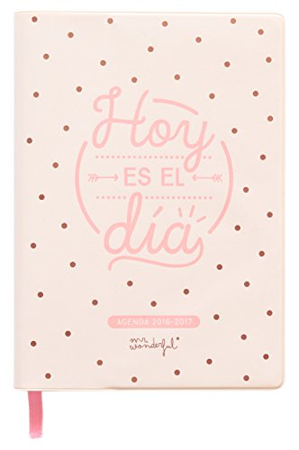 Mr. Wonderful WOA03573ES - Agenda pequeña 2016-2017, dia por ...