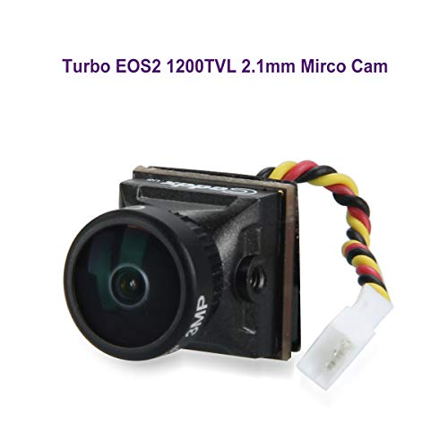 (FPV Camera Caddx Turbo EOS2 2.1mm Lens 1200TVL 1/3
