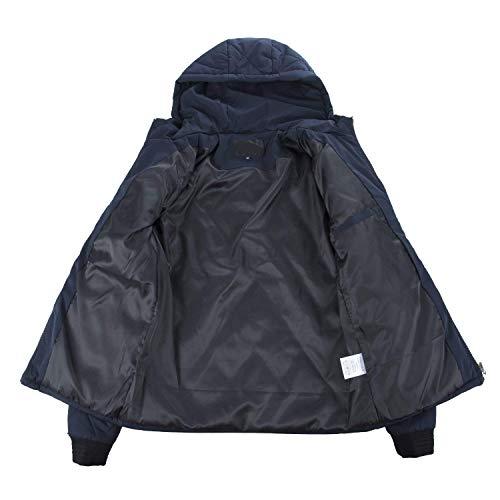 Hombres Lannister Hoodie Long Hooded Fashion Lightweight Retro Sleeve Hoodie Leisure Mens Warm Down Outerwear Jacket Blau Jacket xvUwq4Hx