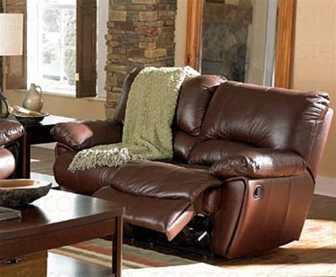 Coaster Home Furnishings Clifford Motion Loveseat Chocolate