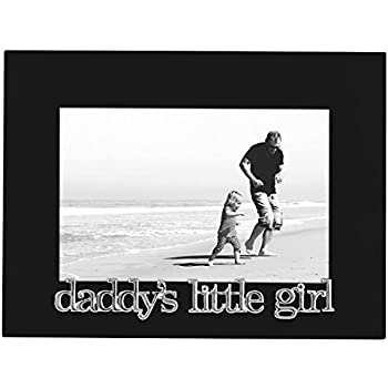 Amazon.com - Daddy\'s Little Girl Picture Frame, Glass Front - Color ...
