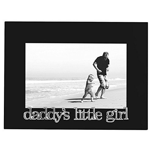 Frame Child Color Daddy (Americanflat Daddy's Little Girl Picture Frame, Glass Front - Color: Black - Fits Photos 4x6 - Easel Back for Table Top Display)