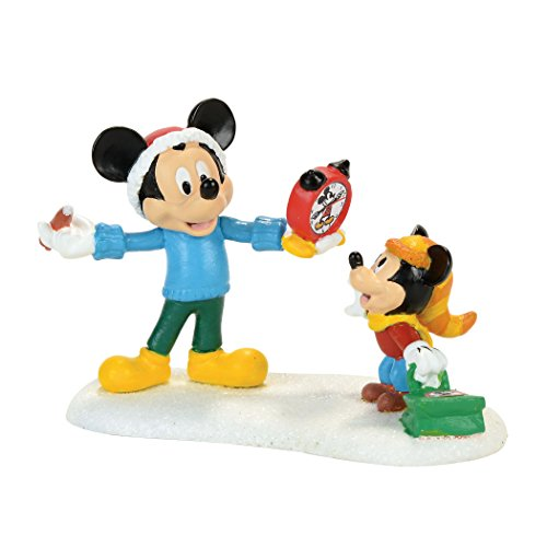 Mickey Autograph (Department 56 Disney Village Mickey's Autograph Clock Accessory Figurine)