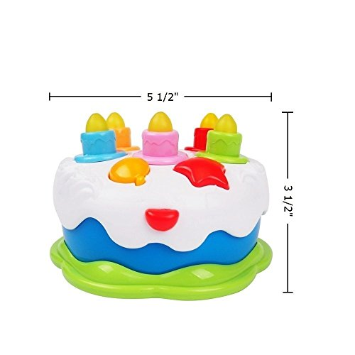 60OFF Luke4deals Musical Cake With Lights Music And Sounds Happy Birthday