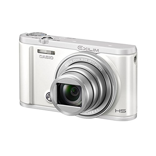 Exilim Selfie Digital Camera WE (White) - International Version (No Warranty) - CASIO EX-ZR3600