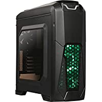 Rosewill NAUTILUS 200G ATX / Micro ATX / Mini-ITX Mid Tower Computer Case Chassis and USB 3.0 (Black)