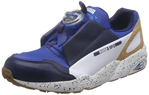 Sneaker Alexander McQueen PUMA Disc en neoprene y piel azul Azul