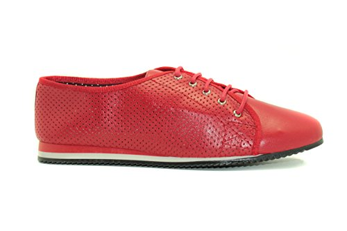 Zapato urbano de mujer - Maria Jaen modelo 2119N Rojo