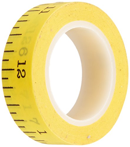 Doodlebug Measure School Washi Tape, 8mm/12 Yards