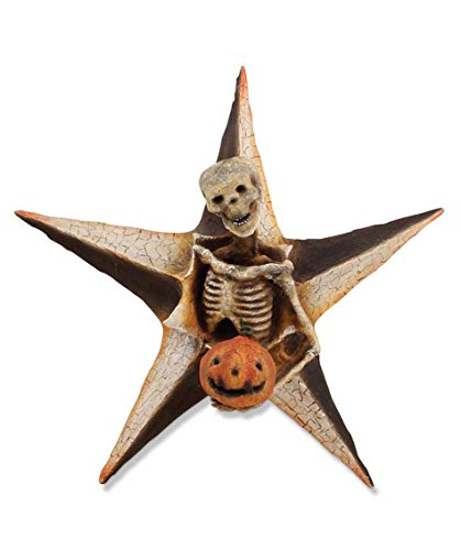 Bethany Lowe Skeleton Star Wall Display Halloween Vergie Lightfoot New Gothic