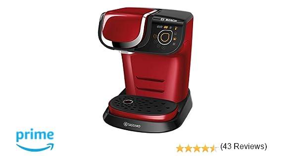 Bosch TAS6003 TASSIMO My Way Cafetera de cápsulas, 1500 W, color ...