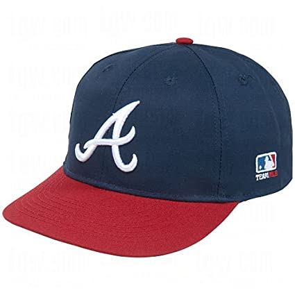 63e96ed78b82db Amazon.com : Atlanta Braves Adult MLB Licensed Replica Cap/Hat : Clothing