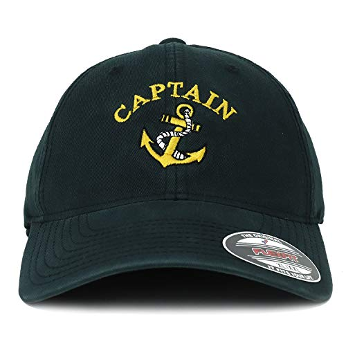 2a0a7d6b6 Armycrew Oversize XXL Captain Anchor Embroidered Washed Cotton ...