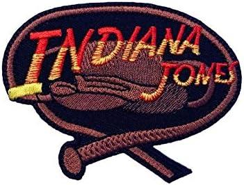 Parche bordado para planchar o coser de Indiana Jones: Amazon.es: Hogar