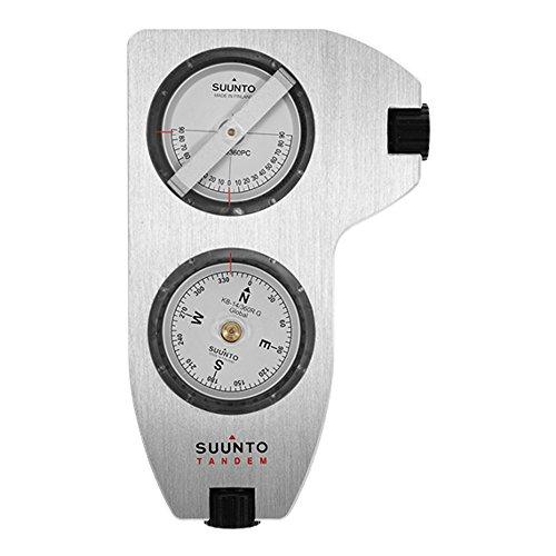 Clinometer Compass, Silver ()