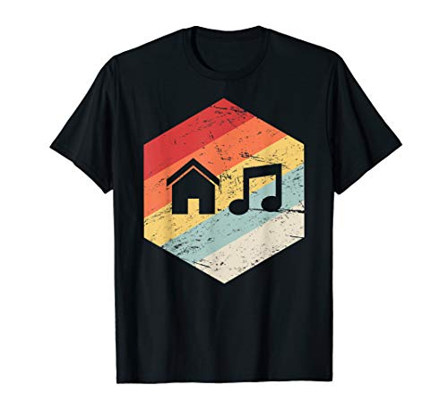 House Music T-shirts - Vintage Retro House Music T-Shirt